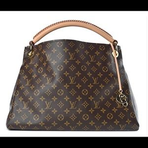 LOUIS VUITTON Artsy brown original